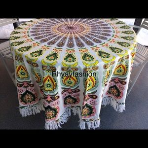 Other - Table bed floor spread boho gift for home teens