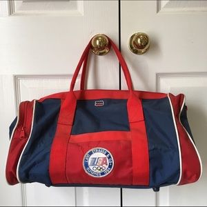 Levi's Other - Vintage Levi's 1980's Olympic duffel bag