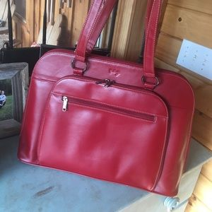 Scully Handbags - Leather laptop/briefcase
