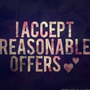 Accepting all reasonable offers bundle to save!