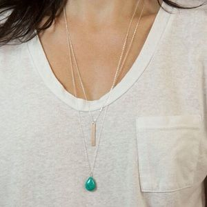 Jewelry - Silver layer necklace