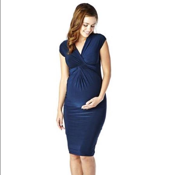 48c72e76b5c6a Isabella Oliver Dresses | Maternity Navy Carla Dress | Poshmark