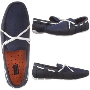 Swims Other - NIB Swims Navy Tie Loafers Water Resistant