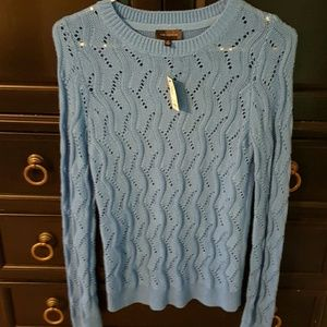 Gorgeous blue sweater from The Limited.