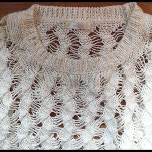 Millau Sweaters - LF Millau Loose Knit Hi Lo Sweater