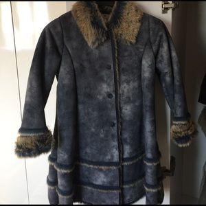 Widgeon Jacket, Girls Size 10, Pre-Owned, blue