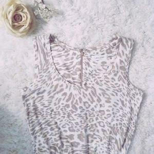 Calvin Klein Pants - | Calvin Klein | leopard print jumpsuit