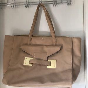 Olivia + Joy Handbags - Large Olivia + Joy beige purse