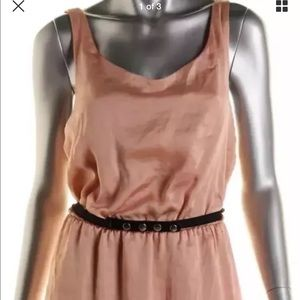 City Studio Dresses & Skirts - NWT City Studio Pink Sateen Cut Out Casual JRS XL
