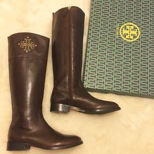 Tory Burch Shoes - Tory Burch KIERNAN Tall Riding Boots