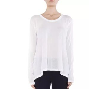 LNA Tops - NEW LNA Danica Tunic Tissue Top Hi Lo Hem