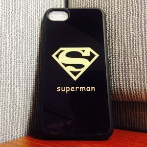 iPhone 7 cute Superman Shockproof defense case