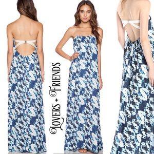 Lovers + Friends Dresses & Skirts - LOVERS + FRIENDS Savannah maxi strapless dress