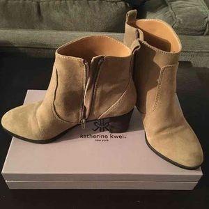 J Crew camel boots