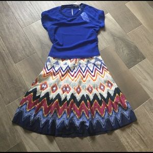Lucy Paris Dresses & Skirts - Colorful Skirt