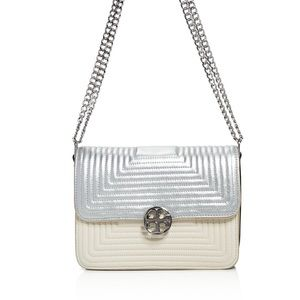 Tory Burch  Handbags - Tory Burch Duet Chain Trapunto Convertible Bag