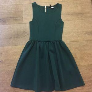Divided Dresses & Skirts - Forest green dress