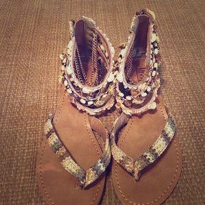 Mix No6 sandals. Never worn.