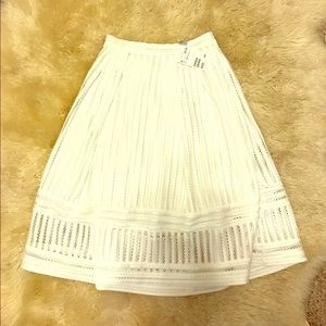 H&M Dresses & Skirts - H&M GREY LABEL BRAND NEW White High Waist Skirt