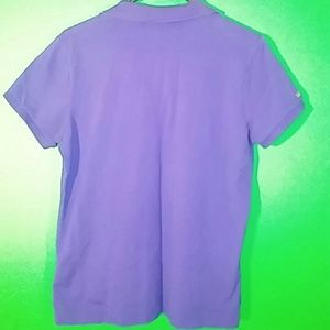 Ralph Lauren Tops - Ralph Lauren Golf Womens L Purple Polo Shirt