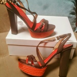 Aqua Shoes - *FINAL* NIB Aqua Skinny Platform Heels