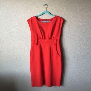Tibi Dresses & Skirts - NWOT Tibi Pencil Dress in Burnt Orange