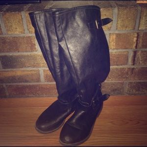 bamboo Shoes - Women's Sz 7 leather boots