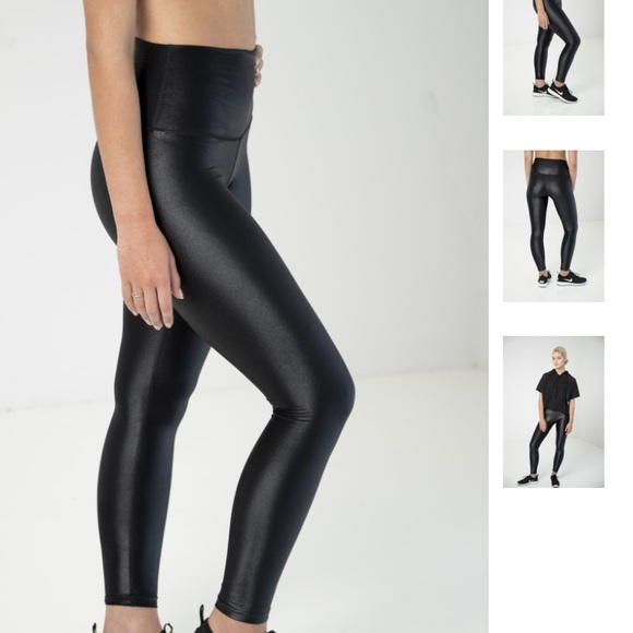 cb1f42ffad DYI High Shine Black Signature Tight