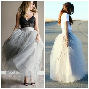 Dresses & Skirts - Princess highwaisted maxi  wrap tulle skirt / tutu