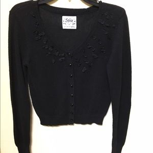 Justice Other - Justice Girls Black Sweater Size 16