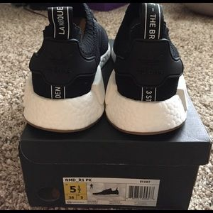 meet c9dfc 42aa9 Adidas Shoes - Adidas NMD R1 Primeknit Gum Pack (released 2417