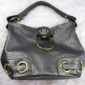 Big Buddha Handbags - 💕SALE💕Gray Big Buddha Hobo Bag