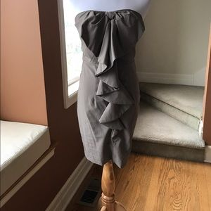 Ark & Co tube dress with ruffles