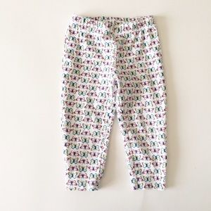 Carter's Other - CARTER'S [baby girl] White butterfly stretch pants