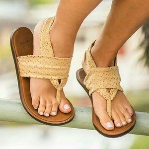Sanuk Shoes - Sanuk Yoga Sling Sandals Tan 5 6 7 9 10 11