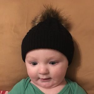 Other - Fuzzy Top Baby Hat