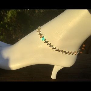 Jewelry - Alternate rhinestone Anklet