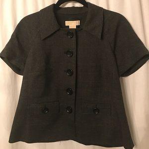 Michael Kors Short Sleeve Blazer, 10
