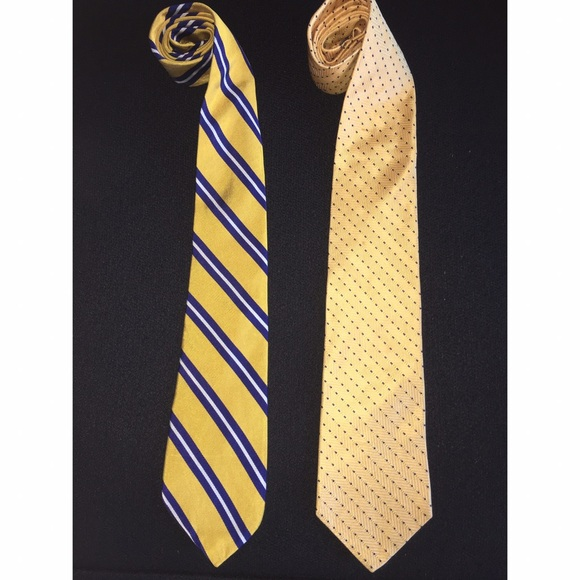 Accessories - Ralph Lauren JONES NEW YORK Tie Bundle