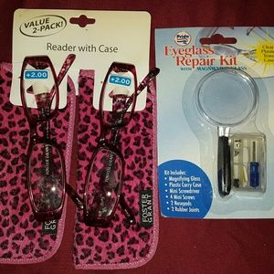 Foster Grant Accessories - 💕💕FOSTER GRANT READERS(2+)2PACK💕REPAIR KIT💕💕