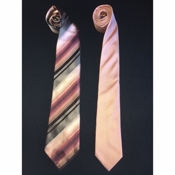 Banana Republic Accessories - Kenneth Cole and Coral BANANA REPUBLIC TIE Bundle