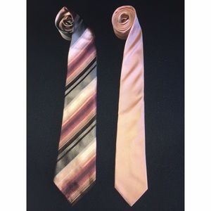 Kenneth Cole and Coral BANANA REPUBLIC TIE Bundle