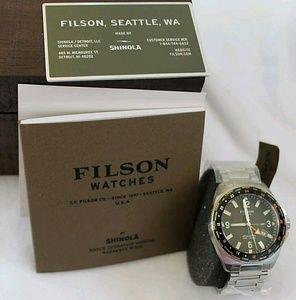 Filson Other - NWT $925 filson shinola stainless Men's watch