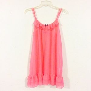 🎀Betsey Johnson🎀 Pink Nightgown