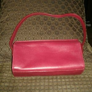 Preston & York Handbags - 💖 FINAL REDUCTION! Little Red Leather Satchel