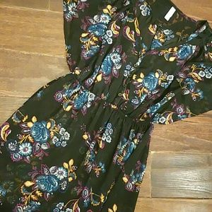 Xhilaration Dresses & Skirts - Silky sheer dress Sm