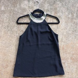 H&M Tops - CC SALE❌H&M couture Gold collard blouse