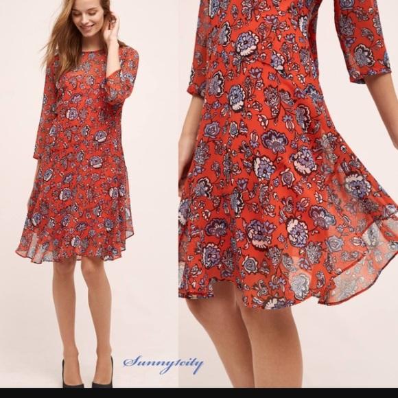 376b44ae6c8b Anthropologie Dresses | Donna Morgan Floral | Poshmark