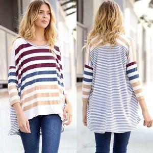 Leoninus  Tops - 🌼Spring Stripe Shirt