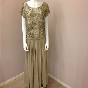 Shakuhachi Dresses & Skirts - Shakuhachi Beaded Chiffon Gown